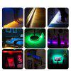 KWB WiFi Controller 5050 RGB LED Strip Light 60LED/m Neon Lamp Decor Tape Diode Ribbon DC 12V Adapter - RGB