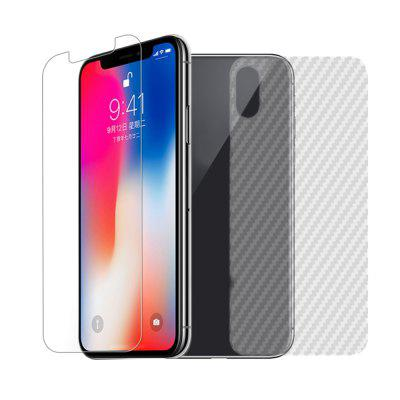Full Coverage Cellphone Protective Film voor iPhone X