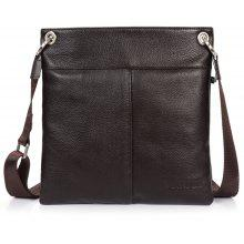 DANJUE Men Messenger Bag Genuine Leather Thin Daily Bag Casual Bag Male Natural Leather Man Business Bag Classic Style