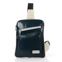 DANJUE Genuine Leather Men Chest Bags Fashion Male Sling Bag Daily Brand Real Leather Back Pack Small Messenger Daypack