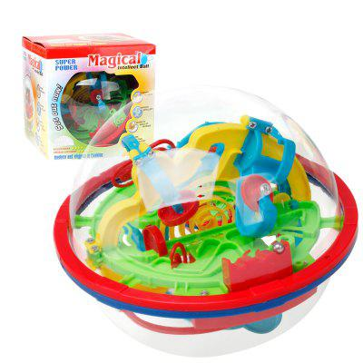 3D Flying Saucer Magic Maze Labyrinth Ball Development Educational Toys for ChildrenOther Educational Toys<br>3D Flying Saucer Magic Maze Labyrinth Ball Development Educational Toys for Children<br><br>Age: 3 Years+<br>Applicable gender: Unisex<br>Design Style: Other<br>Features: Educational<br>Gender: Unisex<br>Material: ABS<br>Package Contents: 1 x Set of Toys<br>Package size (L x W x H): 12.00 x 12.00 x 12.00 cm / 4.72 x 4.72 x 4.72 inches<br>Package weight: 0.2000 kg<br>Puzzle Style: Other<br>Small Parts: Yes<br>Type: Intelligence toys<br>Washing: No
