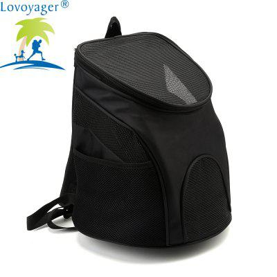 Lovoyager LVC1229 Pet Travel Breathable Portable BackpackCat Beds &amp; Furniture<br>Lovoyager LVC1229 Pet Travel Breathable Portable Backpack<br><br>Brand: Lovoyager<br>For: Cats, Dogs<br>Functions: Adjustable<br>Material: Nylon, Polyester<br>Package Contents: 1 x Dog Bag<br>Package size (L x W x H): 35.00 x 25.00 x 10.00 cm / 13.78 x 9.84 x 3.94 inches<br>Package weight: 0.4000 kg<br>Season: All seasons
