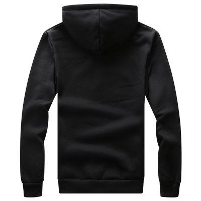 Men Casual Long-Sleeved HoodieMens Hoodies &amp; Sweatshirts<br>Men Casual Long-Sleeved Hoodie<br><br>Material: Polyester<br>Package Contents: 1 x Hoodie<br>Shirt Length: Long<br>Sleeve Length: Full<br>Style: Casual<br>Weight: 0.4000kg