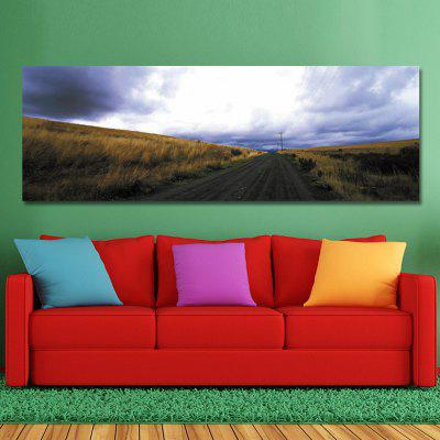 DYC 10567 Photography Prairie Road Landscape Print ArtPainting<br>DYC 10567 Photography Prairie Road Landscape Print Art<br><br>Brand: DYC<br>Craft: Print<br>Form: One Panel<br>Material: Canvas<br>Package Contents: 1 x Print<br>Package size (L x W x H): 44.00 x 9.00 x 9.00 cm / 17.32 x 3.54 x 3.54 inches<br>Package weight: 0.4200 kg<br>Painting: Without Inner Frame<br>Product size (L x W x H): 40.00 x 120.00 x 1.00 cm / 15.75 x 47.24 x 0.39 inches<br>Product weight: 0.2800 kg<br>Shape: Horizontal<br>Style: Scenic<br>Subjects: Landscape<br>Suitable Space: Garden,Living Room,Office,Hotel