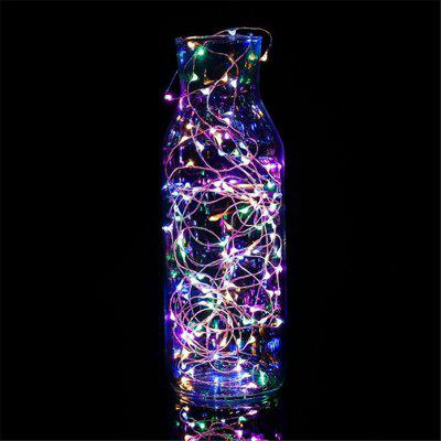 5M String Light Battery Holiday Waterproof LED Strip Lighting for Fairy Christmas Tree Wedding Party Decoration Lamp