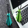 Cartoon little devil key ring Mini USB Type C Cable Fast Charger Cable Type-C USB Charger Cable - GREEN