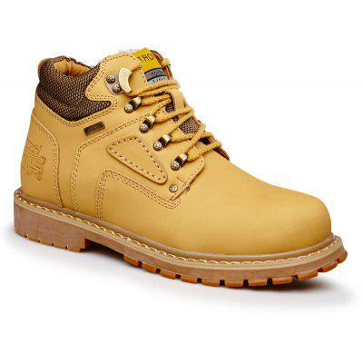 Warm and Comfortable Outdoor Wear Leather Jobon Boots
