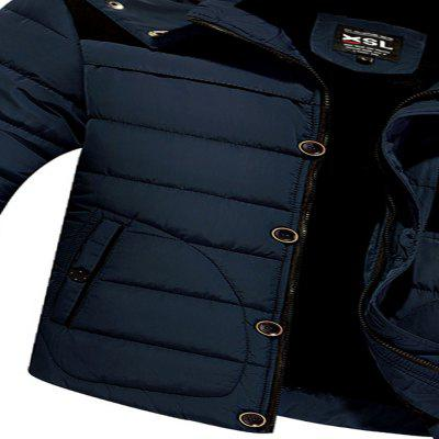 2017 Mens Fashion Leisure CoatMens Jackets &amp; Coats<br>2017 Mens Fashion Leisure Coat<br><br>Clothes Type: Padded<br>Materials: Polyester<br>Package Content: 1 X Coat<br>Package size (L x W x H): 1.00 x 1.00 x 1.00 cm / 0.39 x 0.39 x 0.39 inches<br>Package weight: 0.5000 kg<br>Size1: M,L,XL,4XL,2XL,3XL,5XL