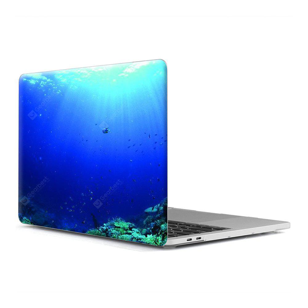 Computador Shell Laptop Case Keyboard Film para MacBook New Pro 13,3 polegadas Touch 2016 3D Marine Life 6