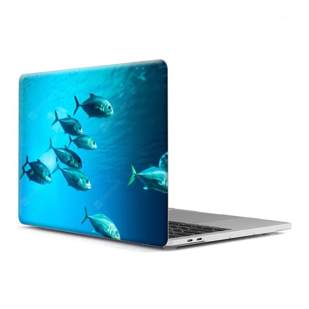 Computer Shell Laptop Case Keyboard Film for MacBook Retina 15.4 inch 3D Marine Life 5