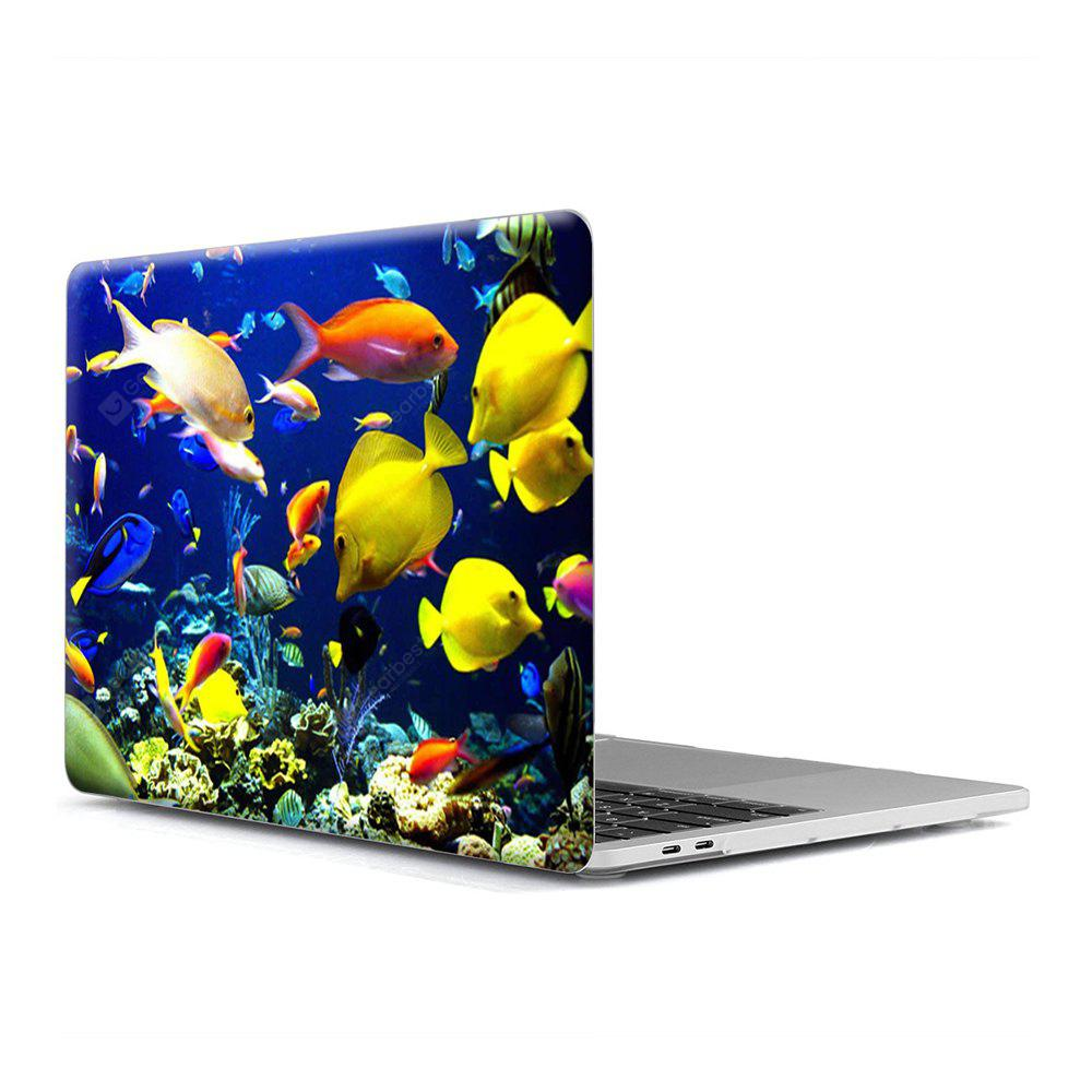 Computer Shell Laptop Case Keyboard Film for MacBook Retina 15.4 inch 3D Marine Life 7