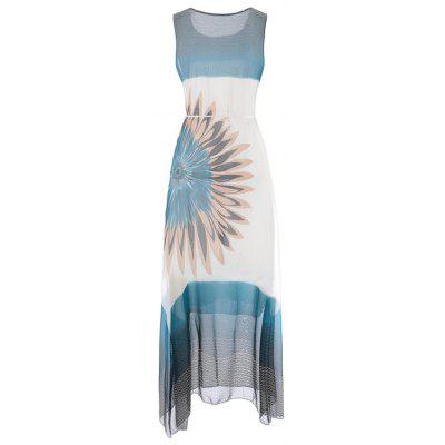 Fashion Women Bohemian Sleeveless Fringe Print Chiffon DressBodycon Dresses<br>Fashion Women Bohemian Sleeveless Fringe Print Chiffon Dress<br><br>Dresses Length: Mid-Calf<br>Elasticity: Nonelastic<br>Embellishment: Sashes<br>Fabric Type: Chiffon<br>Material: Polyester<br>Neckline: Round Collar<br>Package Contents: 1 x Dress<br>Pattern Type: Print<br>Season: Summer<br>Silhouette: A-Line<br>Sleeve Length: Sleeveless<br>Style: Fashion<br>Waist: Natural<br>Weight: 0.2850kg<br>With Belt: Yes