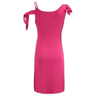 Women Sexy Bow Night Club DressBodycon Dresses<br>Women Sexy Bow Night Club Dress<br><br>Dresses Length: Mini<br>Elasticity: Elastic<br>Fabric Type: Jersey<br>Material: Polyester, Spandex<br>Neckline: V-Neck<br>Package Contents: 1 X Dress<br>Pattern Type: Solid<br>Season: Summer<br>Silhouette: Sheath<br>Sleeve Length: Sleeveless<br>Style: Sexy &amp; Club<br>Waist: Natural<br>Weight: 0.2600kg<br>With Belt: No