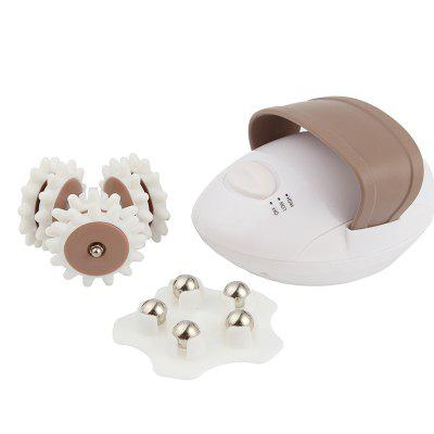 3D Massage Head Roller Electric Full Body Massager Slimming Anti-cellulite Control System