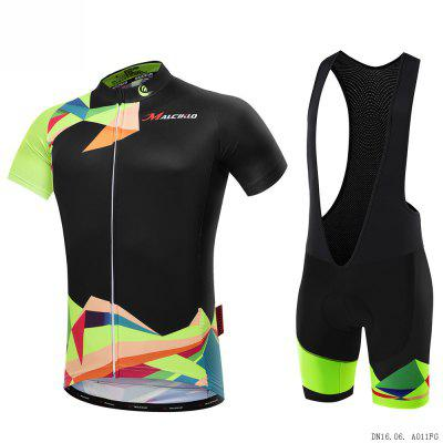 2018  Malciklo Summer Men Cycling Jersey Bib Tights Short Rompers Bike Compression Suits Quick Dry