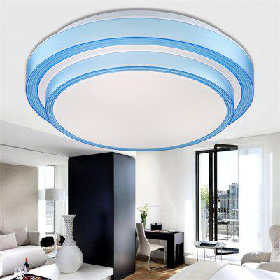 Blue Box 24 Watt Led Double Circular Lamps 35 Cm