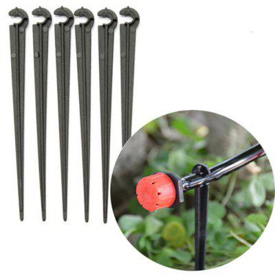 10pcs 4 / 7mm C-Type Pipe Clip Clamp Bracket Holder Accessori per l'irrigazione del giardino