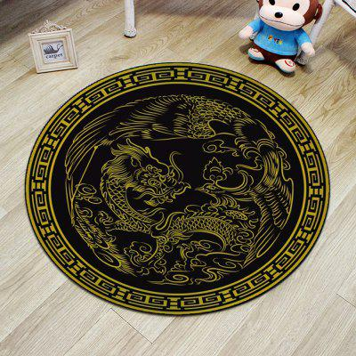 Cloakroom Floor Mat Dragon Pattern Antiskid Round Door MatCarpets &amp; Rugs<br>Cloakroom Floor Mat Dragon Pattern Antiskid Round Door Mat<br><br>Category: Mat,Carpet<br>For: All<br>Material: Polyester, Others, Polyester fibre<br>Occasion: Office, Dining Room, Bedroom, Bathroom, Kitchen Room, Living Room<br>Package Contents: 1 x carpet<br>Package size (L x W x H): 20.00 x 25.00 x 5.00 cm / 7.87 x 9.84 x 1.97 inches<br>Package weight: 0.6400 kg