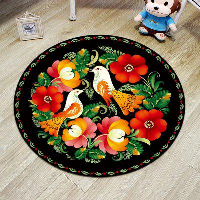 Cloakroom Floor Mat Colorful Flower Pattern Round Antiskid MatCarpets &amp; Rugs<br>Cloakroom Floor Mat Colorful Flower Pattern Round Antiskid Mat<br><br>Category: Mat,Carpet<br>For: All<br>Material: Polyester, Others, Polyester fibre<br>Occasion: Office, Dining Room, Bedroom, Bathroom, Kitchen Room, Living Room<br>Package Contents: 1 x carpet<br>Package size (L x W x H): 25.00 x 30.00 x 10.00 cm / 9.84 x 11.81 x 3.94 inches<br>Package weight: 1.0000 kg