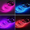 HML 5M 72W 5050 RGB LED Strip Light with 20 Keys Music Remote Control And US Power Adapter - RGB