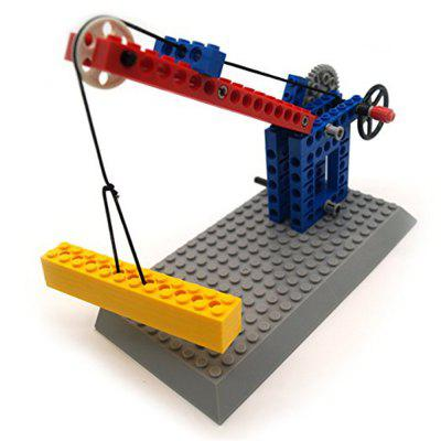 Lifting Hoisting Pulley Group Engineering Mechanical Science Learning Education Building Blocks Toy 68pcsBlock Toys<br>Lifting Hoisting Pulley Group Engineering Mechanical Science Learning Education Building Blocks Toy 68pcs<br><br>Gender: Unisex<br>Package Contents: 1 x Assembles Toy<br>Package size: 33.00 x 23.50 x 6.50 cm / 12.99 x 9.25 x 2.56 inches<br>Package weight: 0.1750 kg<br>Product weight: 0.1700 kg<br>Suitable Age: Kid<br>Theme: Buildings<br>Type: Construction