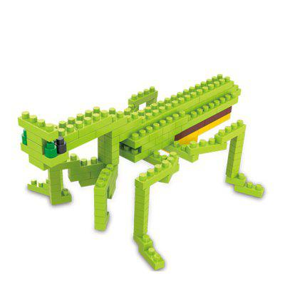 Creative Mantis Small Particles Собранные Puzzle Building Blocks Toy