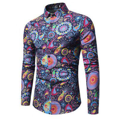 Mens Party Vintage Active Chinoiserie All Seasons Floral Standing Collar Long Sleeves Polyester ShirtMens Shirts<br>Mens Party Vintage Active Chinoiserie All Seasons Floral Standing Collar Long Sleeves Polyester Shirt<br><br>Collar: Turn-down Collar<br>Material: Cotton<br>Package Contents: 1 X  Shirt<br>Shirts Type: Casual Shirts<br>Sleeve Length: Full<br>Weight: 0.2800kg