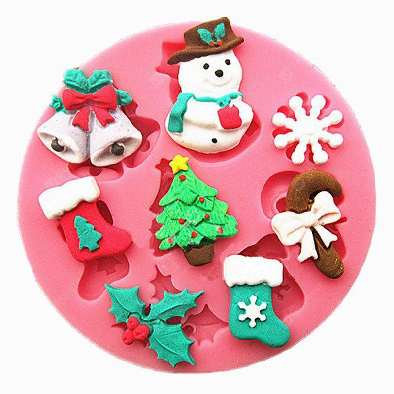 Christmas Cake Cookie Biscuit Mould Creative Baking Tools