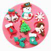 Christmas Cake Cookie Biscuit Mould Creative Baking Tools - PINK