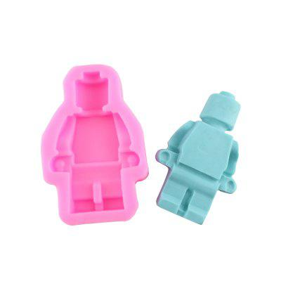 Fondant Chocolate Pastry Cake Decorating Mold Baking Tools 3D Robot  Mold