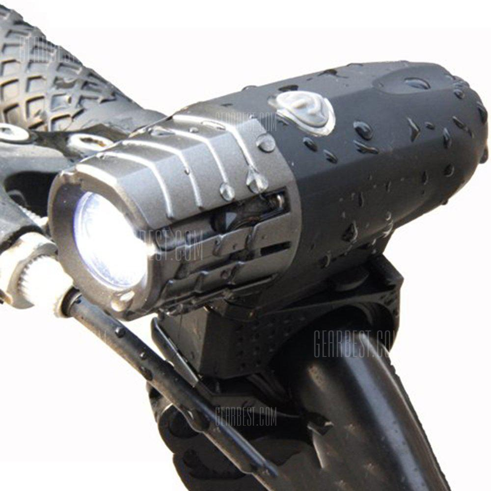 2256 Super Bright 200LM USB Ricaricabile per bici LED Front Light Power