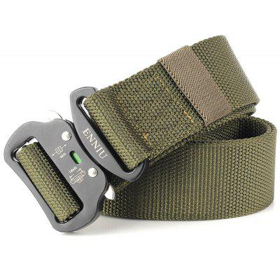 Fashion Design Multi-Function Tactical Belt Quick-Release Military Style Shooters Nylon Belt with Metal BuckleMens Belts<br>Fashion Design Multi-Function Tactical Belt Quick-Release Military Style Shooters Nylon Belt with Metal Buckle<br><br>Belt Length: 125CM<br>Belt Material: Canvas,Metal,Knitted<br>Belt Silhouette: Wide Belt<br>Belt Width: 4.5CM<br>Buckle Length: 6.5CM<br>Buckle Width: 6.5CM<br>Gender: Unisex<br>Group: Adult<br>Package Contents: 1 X Belt<br>Package size (L x W x H): 17.00 x 4.00 x 5.00 cm / 6.69 x 1.57 x 1.97 inches<br>Package weight: 0.2000 kg<br>Pattern Type: Polka Dot<br>Product size (L x W x H): 125.00 x 4.50 x 0.50 cm / 49.21 x 1.77 x 0.2 inches<br>Product weight: 0.1700 kg<br>Style: Active