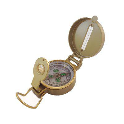 Multi-Function Military Aluminum Alloy Compass Mountaineering Hiking Climbing Accessory