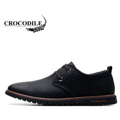 CROCODILE The New 2018 Men Casual Shoes WFX00372037Formal Shoes<br>CROCODILE The New 2018 Men Casual Shoes WFX00372037<br><br>Available Size: 38-43<br>Closure Type: Lace-Up<br>Embellishment: None<br>Flat Type: Slingbacks<br>Gender: For Men<br>Insole Material: PU<br>Lining Material: PU<br>Occasion: Casual<br>Outsole Material: Rubber<br>Package Contents: 1xshoes(pair)<br>Pattern Type: Print<br>Season: Summer, Spring/Fall, Winter<br>Shoe Width: Medium(B/M)<br>Toe Shape: Round Toe<br>Toe Style: Closed Toe<br>Upper Material: Cow Split<br>Weight: 1.9800kg