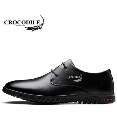 CROCODILE New Men Casual Shoes WFX00372050Formal Shoes<br>CROCODILE New Men Casual Shoes WFX00372050<br><br>Available Size: 38-44<br>Closure Type: Lace-Up<br>Embellishment: None<br>Flat Type: Slingbacks<br>Gender: For Men<br>Insole Material: PU<br>Lining Material: Genuine Leather<br>Occasion: Casual<br>Outsole Material: Rubber<br>Package Contents: 1xshoes(pair)<br>Pattern Type: Patchwork<br>Season: Summer, Spring/Fall, Winter<br>Shoe Width: Medium(B/M)<br>Toe Shape: Round Toe<br>Toe Style: Closed Toe<br>Upper Material: Cow Split<br>Weight: 1.9800kg