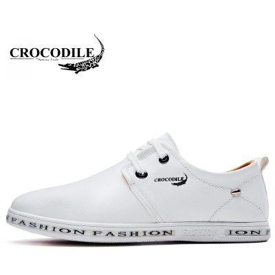 CROCODILE New Men Casual Shoes WFX00372056Casual Shoes<br>CROCODILE New Men Casual Shoes WFX00372056<br><br>Available Size: 38-44<br>Closure Type: Lace-Up<br>Embellishment: None<br>Flat Type: Slingbacks<br>Gender: For Men<br>Insole Material: PU<br>Lining Material: Genuine Leather<br>Occasion: Casual<br>Outsole Material: Rubber<br>Package Contents: 1xshoes(pair)<br>Pattern Type: Patchwork<br>Season: Summer, Spring/Fall, Winter<br>Shoe Width: Medium(B/M)<br>Toe Shape: Round Toe<br>Toe Style: Closed Toe<br>Upper Material: Microfiber<br>Weight: 1.9800kg