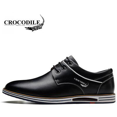 CROCODILE New Men Casual Shoes WFX00372062Formal Shoes<br>CROCODILE New Men Casual Shoes WFX00372062<br><br>Available Size: 38-44<br>Closure Type: Lace-Up<br>Embellishment: None<br>Flat Type: Slingbacks<br>Gender: For Men<br>Insole Material: PU<br>Lining Material: Genuine Leather<br>Occasion: Casual<br>Outsole Material: Rubber<br>Package Contents: 1xshoes(pair)<br>Pattern Type: Patchwork<br>Season: Summer, Spring/Fall, Winter<br>Shoe Width: Medium(B/M)<br>Toe Shape: Round Toe<br>Toe Style: Closed Toe<br>Upper Material: Microfiber<br>Weight: 1.9800kg