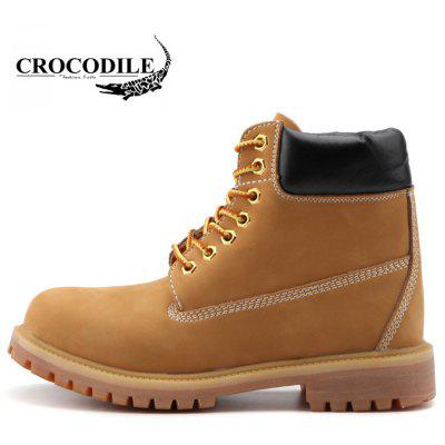 CROCODILE High for Leisure Tooling Male Shoes WFX00372102Mens Boots<br>CROCODILE High for Leisure Tooling Male Shoes WFX00372102<br><br>Available Size: 38-44<br>Closure Type: Lace-Up<br>Gender: For Men<br>Insole Material: PU<br>Lining Material: Genuine Leather<br>Outsole Material: Rubber<br>Package Contents: 1xshoes(pair)<br>Package Size ( L x W x H ): 33.00 x 20.00 x 15.00 cm / 12.99 x 7.87 x 5.91 inches<br>Season: Summer, Winter, Spring/Fall<br>Shoe Width: Wide(C/D/W)<br>Type: Hiking Shoes<br>Upper Material: Full Grain Leather<br>Weight: 1.9800kg