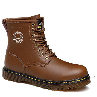 CROCODILE New High Martin Boots Tooling Leather Shoes WFX00372095