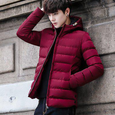 BYF1997 Mens Quilted Coat Comfy All Match Fashion Solid Color CoatMens Jackets &amp; Coats<br>BYF1997 Mens Quilted Coat Comfy All Match Fashion Solid Color Coat<br><br>Clothes Type: Padded<br>Materials: Polyester<br>Package Content: 1 X Coat<br>Package size (L x W x H): 1.00 x 1.00 x 1.00 cm / 0.39 x 0.39 x 0.39 inches<br>Package weight: 0.8000 kg<br>Size1: M,L,XL,2XL,3XL