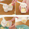 High Quality Kitchen Cooking Tool Potato Garlic Cutter Fruit Vegetable Tool Ginger Garlic Presses Kitchen Tools - WHITE