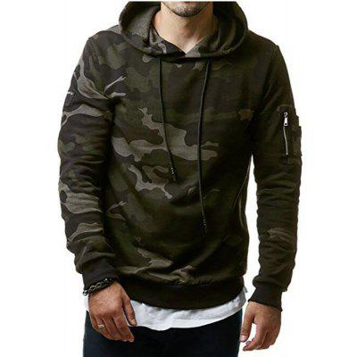 Men's New Classic Camouflage Casual Hoodies