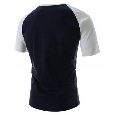 Mens New Short-Sleeved Stitching Design Digital Letter Printing T-ShirtMens T-shirts<br>Mens New Short-Sleeved Stitching Design Digital Letter Printing T-Shirt<br><br>Collar: Round Neck<br>Material: Cotton Blends<br>Package Contents: 1x T-shirts<br>Pattern Type: Print<br>Sleeve Length: Short Sleeves<br>Style: Fashion<br>T-shirts: None<br>Weight: 0.2000kg