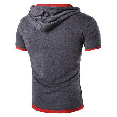 Mens New Short-Sleeved Printed Hooded Design Casual T ShirtMens T-shirts<br>Mens New Short-Sleeved Printed Hooded Design Casual T Shirt<br><br>Collar: Hooded<br>Material: Cotton, Cotton Blends<br>Package Contents: 1x T-shirts<br>Pattern Type: Print<br>Sleeve Length: Short Sleeves<br>Style: Streetwear<br>T-shirts: None<br>Weight: 0.2200kg