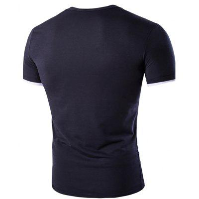 Mens New Short-Sleeved Single-Pocket Splicing Access Design T-ShirtMens T-shirts<br>Mens New Short-Sleeved Single-Pocket Splicing Access Design T-Shirt<br><br>Collar: Round Neck<br>Material: Cotton, Cotton Blends<br>Package Contents: 1x T-shirts<br>Pattern Type: Solid<br>Sleeve Length: Short Sleeves<br>Style: Fashion<br>T-shirts: None<br>Weight: 0.2200kg