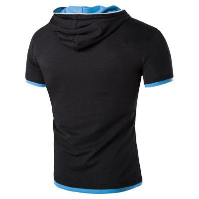 Mens New Oblique Zip Hooded Design Stylish Short-Sleeved T-ShirtMens T-shirts<br>Mens New Oblique Zip Hooded Design Stylish Short-Sleeved T-Shirt<br><br>Collar: Hooded<br>Material: Cotton, Cotton Blends<br>Package Contents: 1x T-shirts<br>Pattern Type: Solid<br>Sleeve Length: Full<br>Style: Fashion<br>T-shirts: None<br>Weight: 0.2200kg