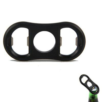 Three-Ring Bilateral Beer Bottle Opener
