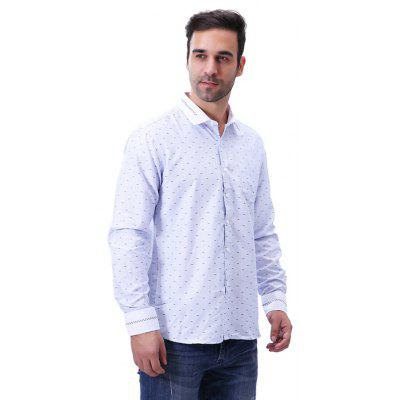 Fashion Print Business Long Sleeve Casual ShirtMens Shirts<br>Fashion Print Business Long Sleeve Casual Shirt<br><br>Collar: Turn-down Collar<br>Fabric Type: Broadcloth<br>Material: Polyester<br>Package Contents: 1 x Shirt<br>Shirts Type: Casual Shirts<br>Sleeve Length: Full<br>Weight: 0.2700kg