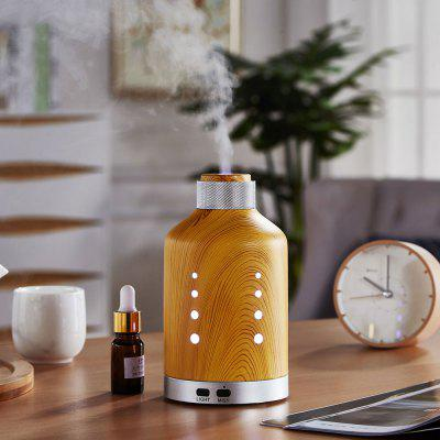 Zuoqi Wood Grain Style Aroma Diffuser LED Colorful Light Aroma Essential Oil DiffuserAir Purifier<br>Zuoqi Wood Grain Style Aroma Diffuser LED Colorful Light Aroma Essential Oil Diffuser<br><br>Appliance Type: Humidifiers<br>Connector Type: US plug<br>Material: Silicone, PP, ABS, Metal<br>Model: JSQ-17081<br>Other Function: Aromatherapy humidification<br>Package Contents: 1 x Machine ,1 x Adapter,1 x Manual<br>Package size (L x W x H): 11.50 x 11.50 x 24.88 cm / 4.53 x 4.53 x 9.8 inches<br>Package weight: 0.4010 kg<br>Product size (L x W x H): 9.20 x 9.20 x 16.00 cm / 3.62 x 3.62 x 6.3 inches<br>Product weight: 0.3040 kg<br>Voltage (V): 110-240V