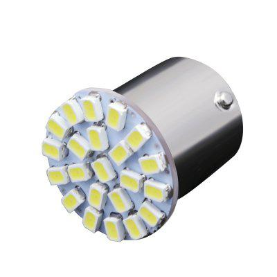 10PCS BA15S 1156 382 P21W White 22SMD LED Car Reverse Tail Brake Signal Light Bulb